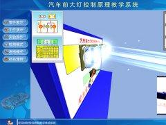 汽车前大灯控制虚拟仿真教学软件