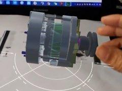 汽车电动机_VR版虚拟仿真教学软件