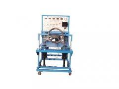 中国汽车教学设备厂家:电控悬架及电控转向实验台