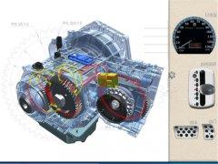 汽车维修仿真教学实训软件